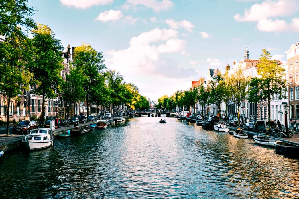 La poesia dei canali di Amsterdam