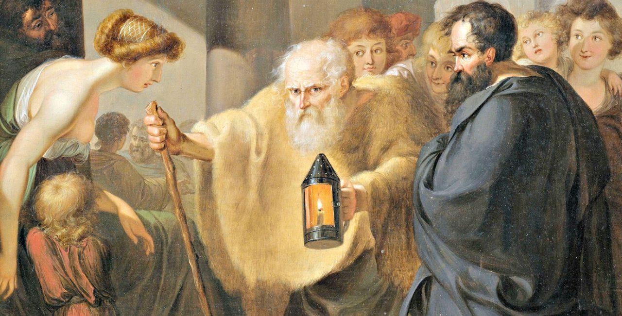 I volti della filosofia: Diogene di Sinope, uno dei fondatori ...