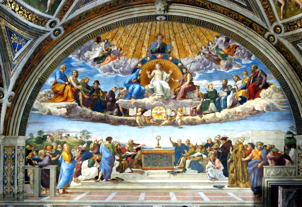 Raffaello Sanzio e le Stanze Vaticane: la Stanza della Segnatura