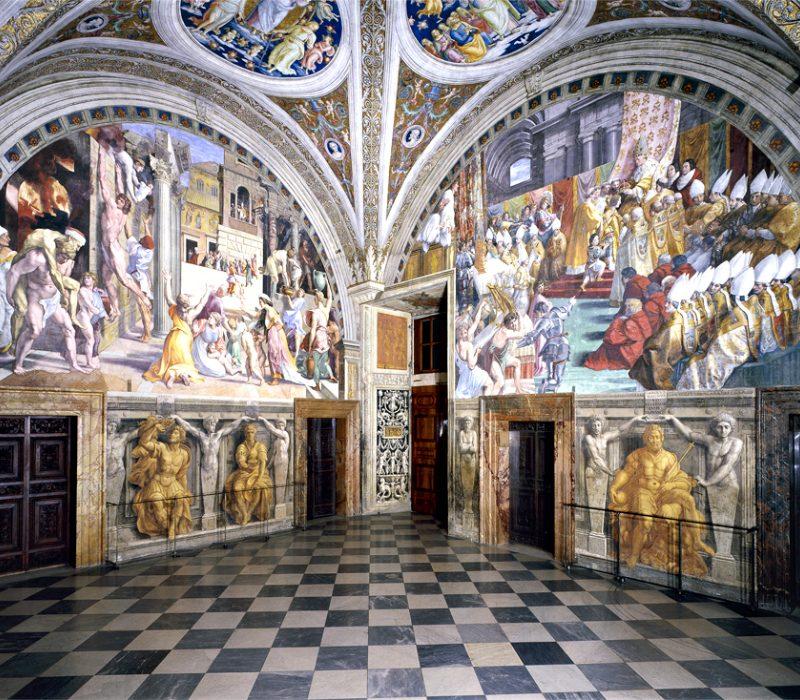 Raffaello Sanzio e le Stanze Vaticane: la Stanza dell'Incendio di Borgo