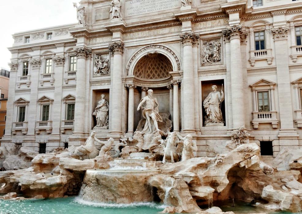 Fontana di Trevi: alcuni scatti