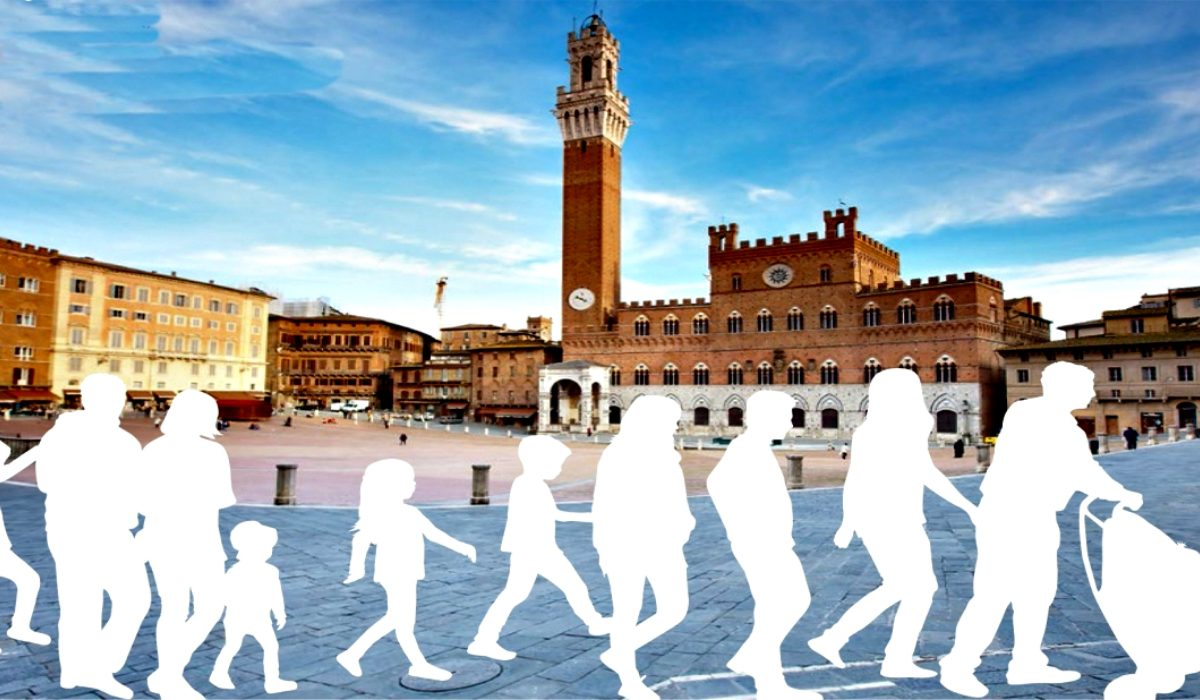 Passeggiate d'autore a Siena