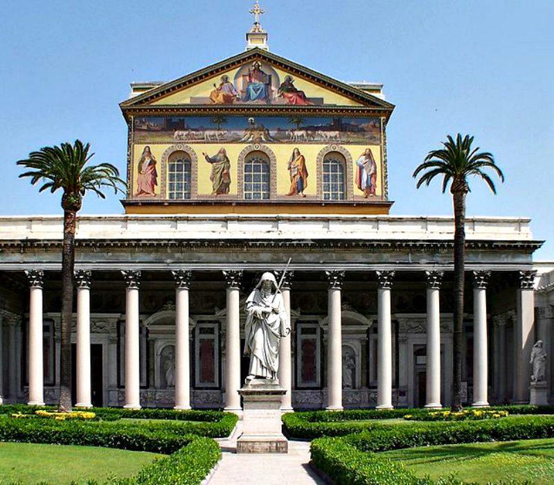 Le quattro Basiliche papali di Roma: San Paolo fuori le mura