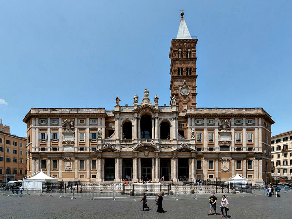Le quattro Basiliche papali di Roma: Santa Maria Maggiore