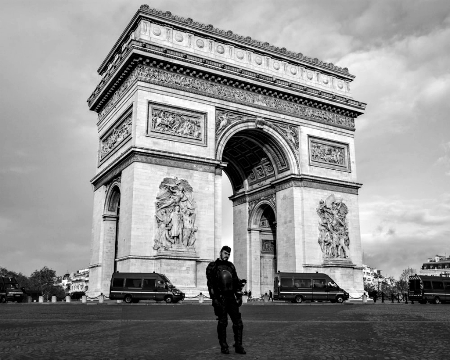 L'Arco di Trionfo: alcuni scatti