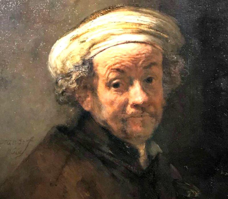 """Il capolavoro di Rembrandt """"Autoritratto come San Paolo"""" in mostra alla Galleria Corsini"""