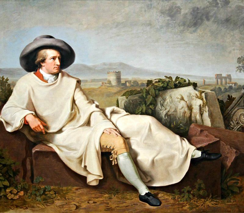 «Conosci il paese dove fioriscono i limoni?»: l'amore di Goethe per l'Italia