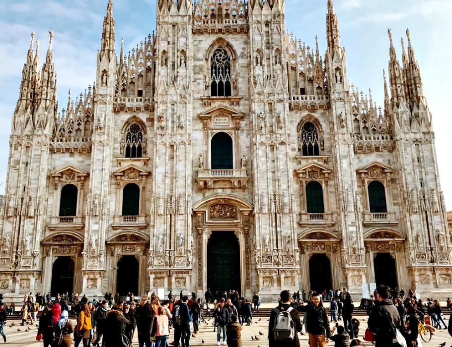 La magnificenza del Duomo di Milano