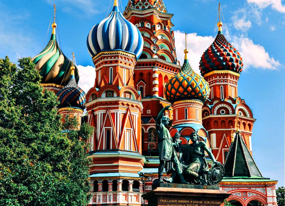 La magia di Mosca in alcuni scatti