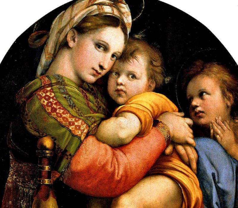 """I Pilastri dell'Arte: la """"Madonna della Seggiola"""" di Raffaello"""