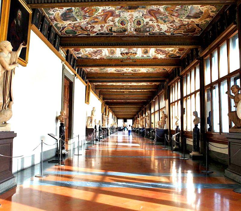 I Pilastri dell'Arte: la nascita degli Uffizi