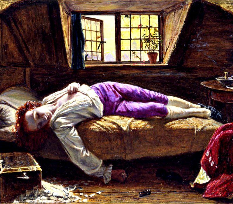 Thomas Chatterton, il poeta fanciullo celebrato da John Keats