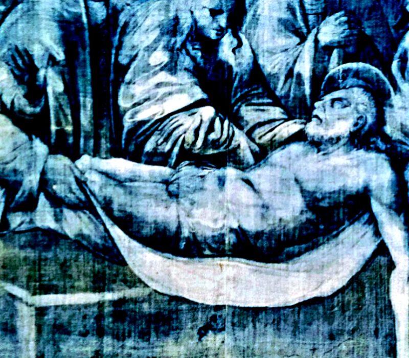 I teli della Passione: un incanto di lino e indaco