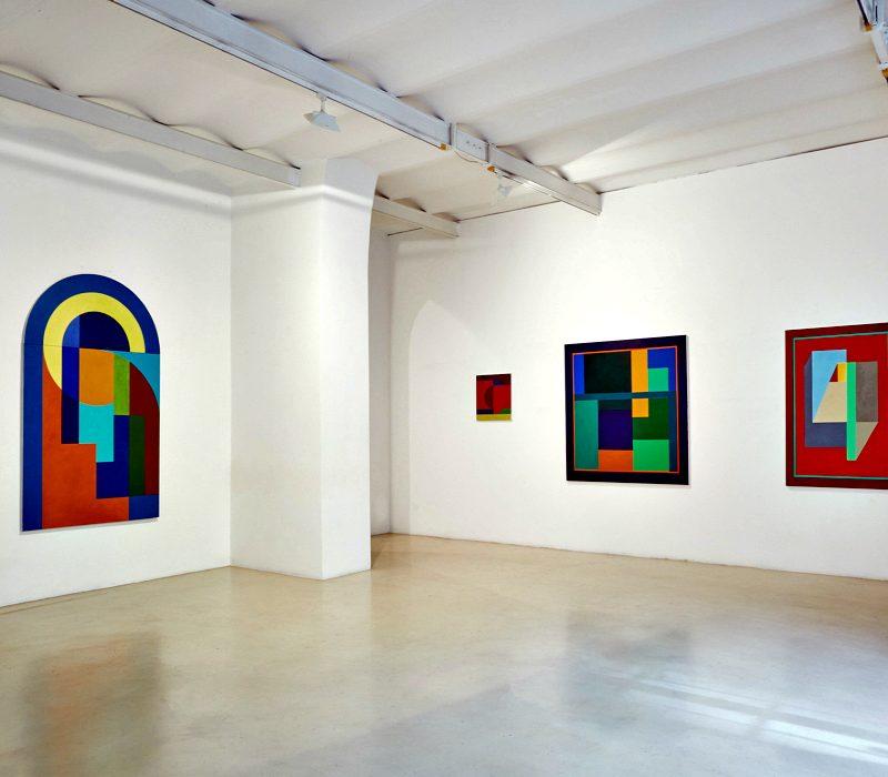 Grammatica della pittura: Chung Eun Mo in mostra alla Galleria Alessandra Bonomo