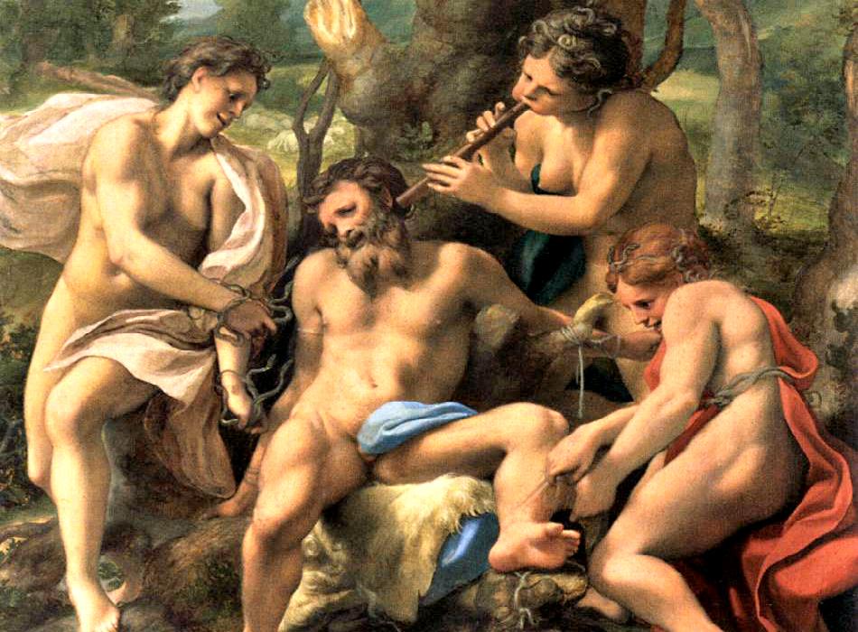 I dipinti di Correggio nello studiolo di Isabella d'Este
