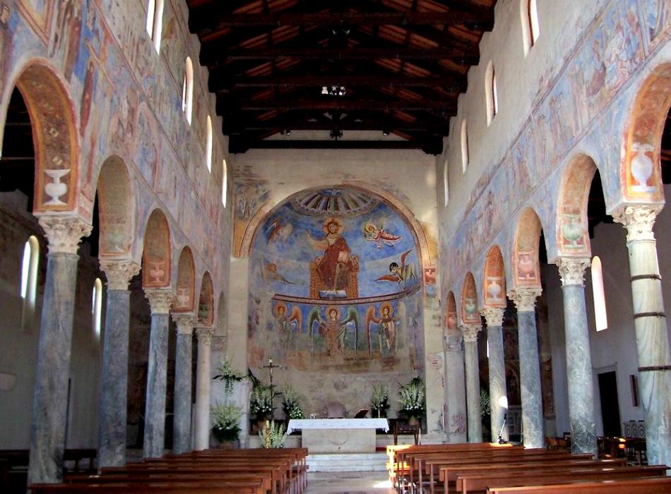 Camminare nelle Sacre Scritture: gli affreschi di Sant'Angelo in Formis
